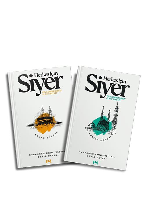Profil Kitap Herkes Için Siyer-1 / Herkes Için Siyer-2 (2 Kitap Set) M.emin Yıldırım / Bekir Develi 666874582458